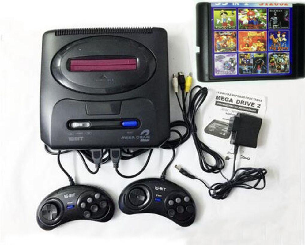 Sega Mega Drive Genesis Retrô Com 2 Joysticks E 112 Jogos