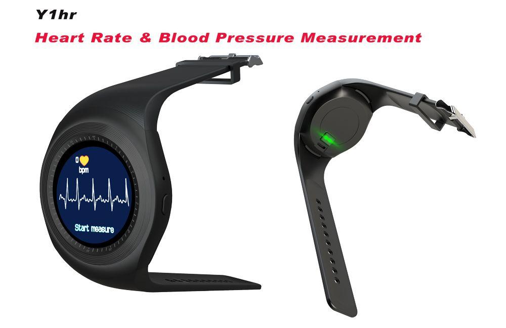 Smartwatch GSM Smartfit Y1HR com Monitor Cardíaco e Pedômetro