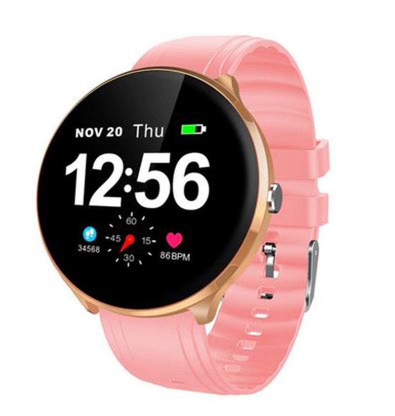 """Smartwatch LEMFO V12 Tela de 1.3"""" Monitor Cardíaco e a prova d'água"""
