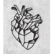 Decorativo 2D - Coração geométrico