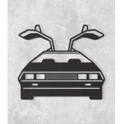 Decorativo 2D - DeLorean