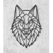Decorativo 2D - Lobo