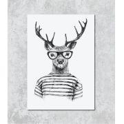 Decorativo - Alce hipster