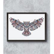 Decorativo - Mandala Coruja