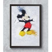 Decorativo - Mikey Mouse em aquarela