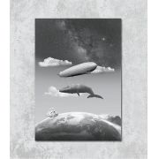 Decorativo - Sonhos com a baleia-zepelim