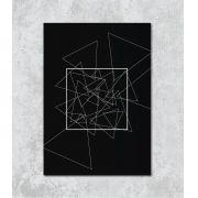 Decorativo - Triângulos e quadrado
