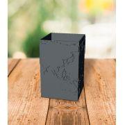 Porta Lápis Mapa do Mundo - Cubico