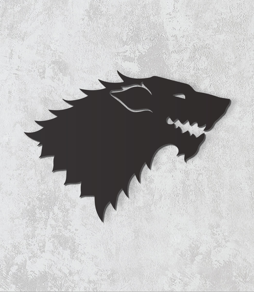 Decorativo 2D - House Stark