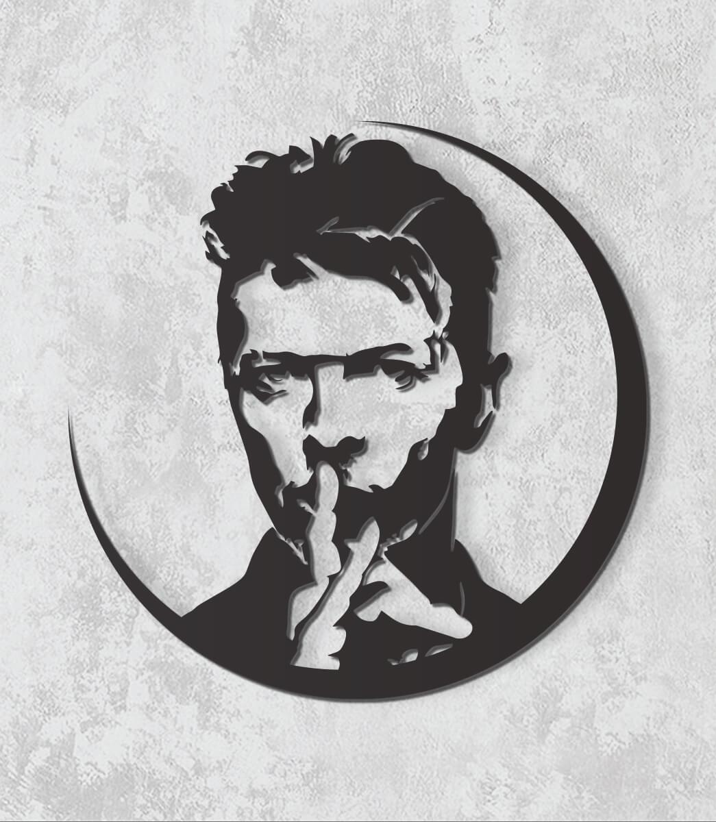 Decorativo 2D - Kurt Cobain