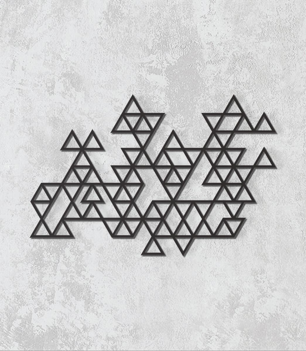 Decorativo 2D - Triângulos