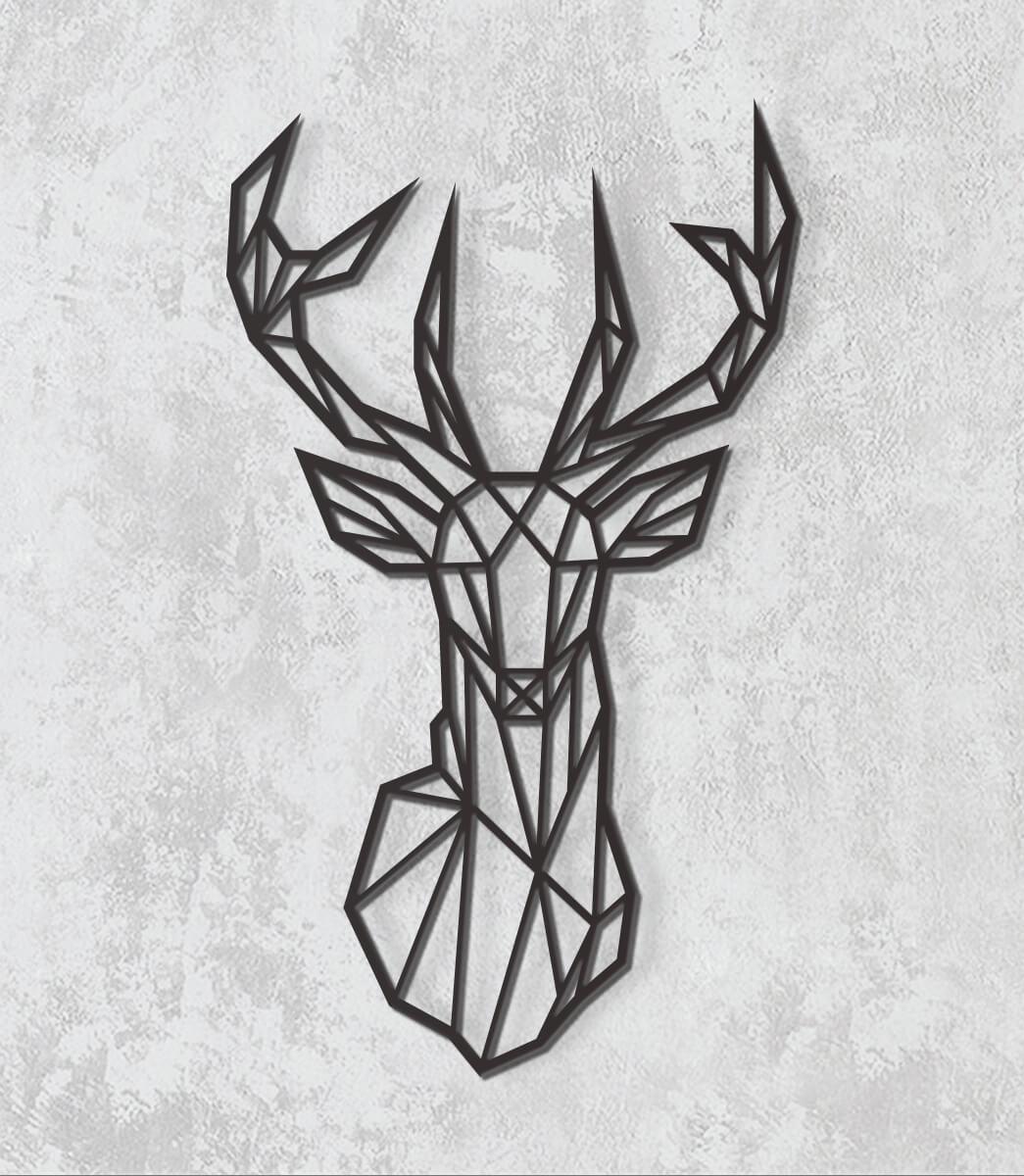 Decorativo 2D - Cervo 2