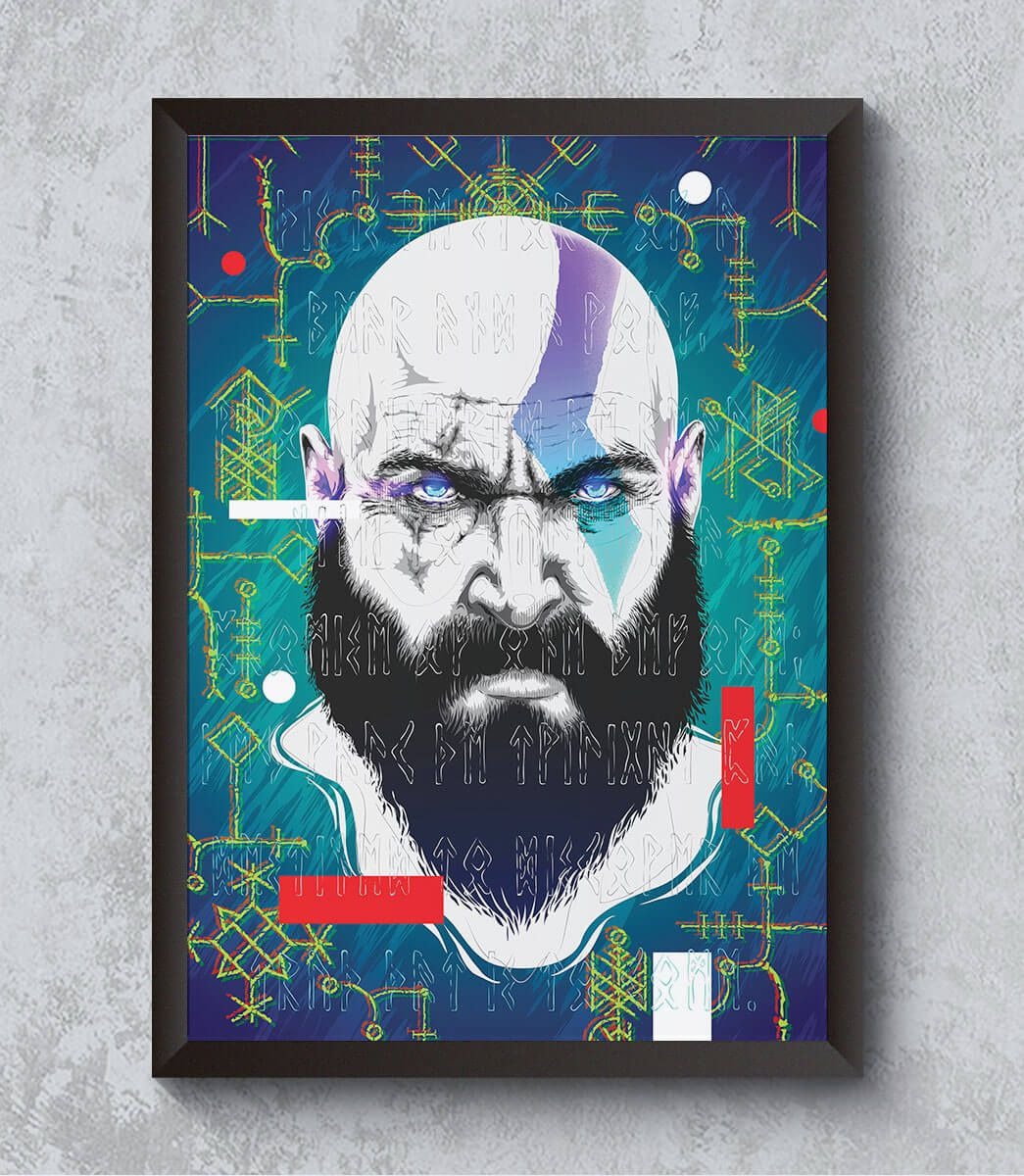 Decorativo - Kratos GOW