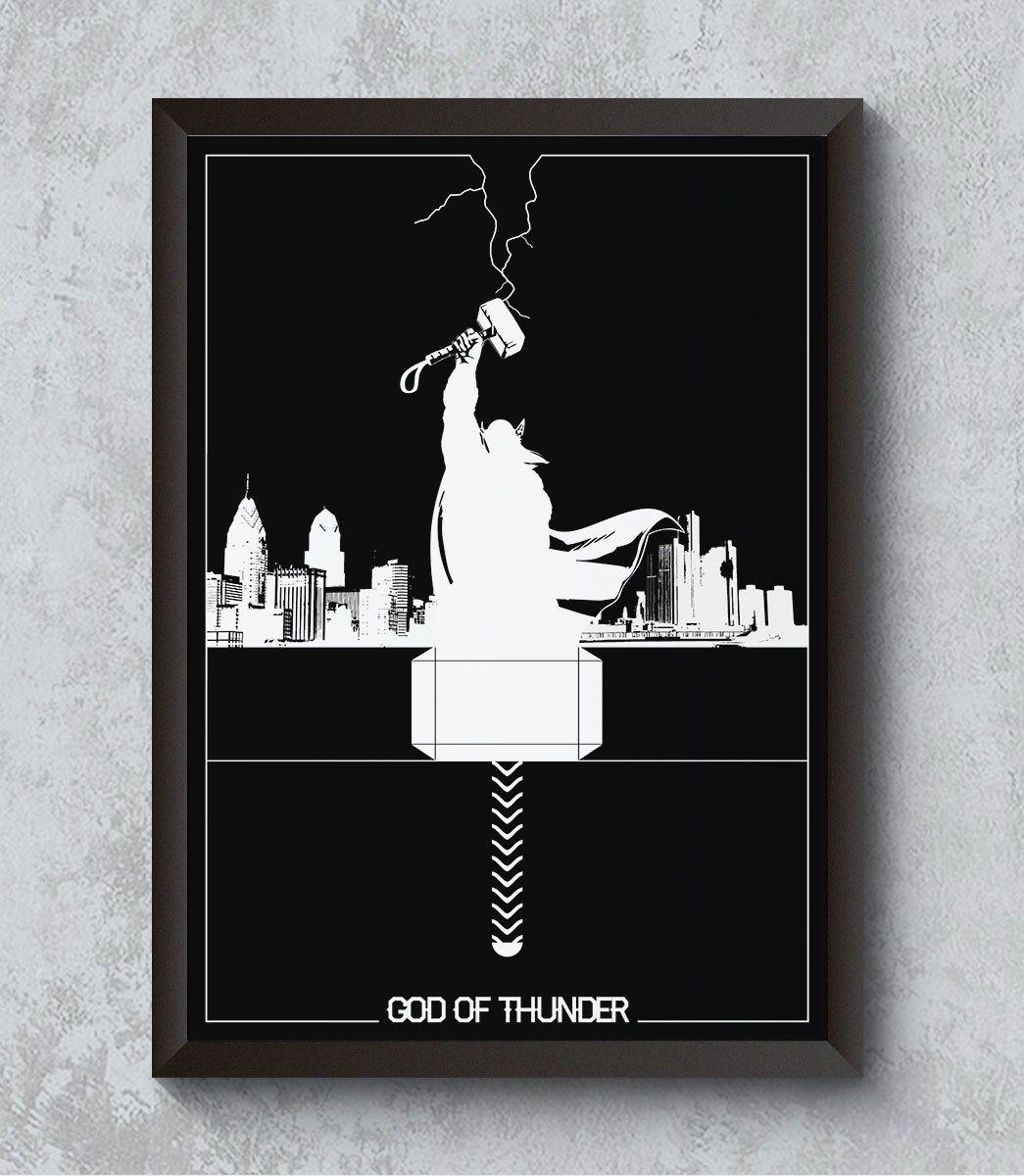 Decorativo - Thor - Deus do Trovão
