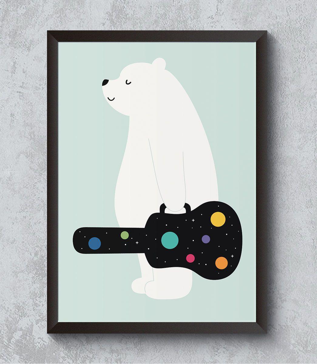 Decorativo - Urso viajante