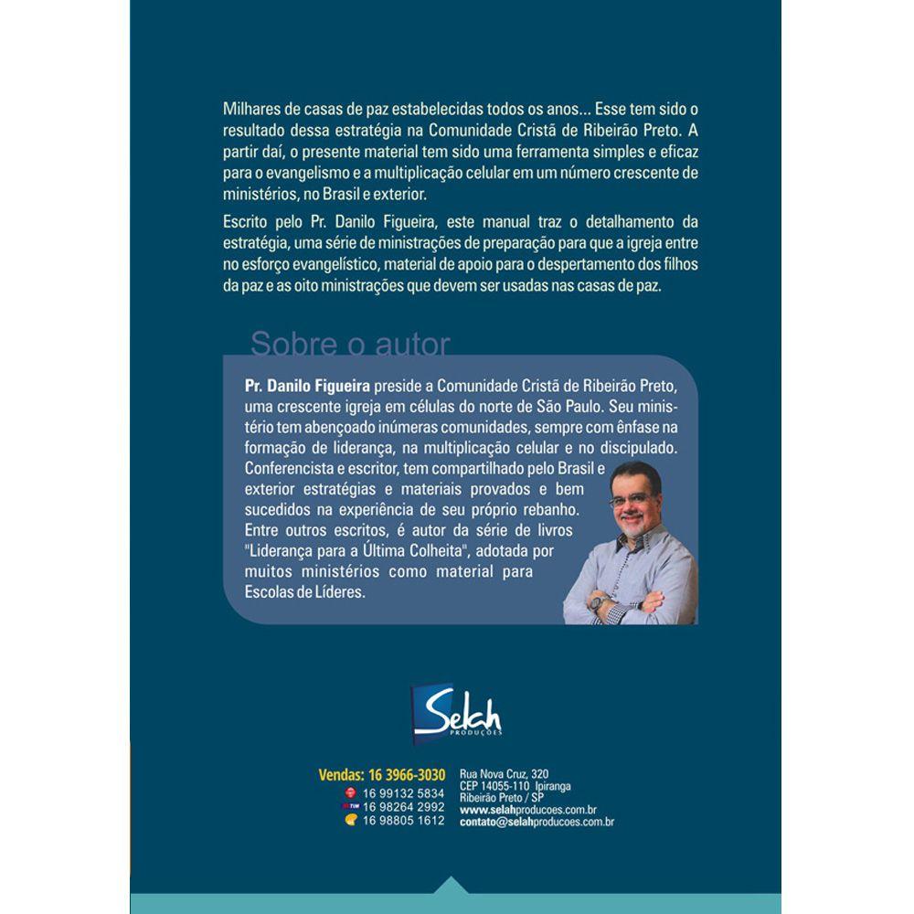 Casas de Paz - Manual do Semeador - Danilo Figueira - (Pacote com 10 Unidades)
