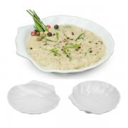 Concha Casquinha Siri Melamina Finger Food Restaurante 30 Ml