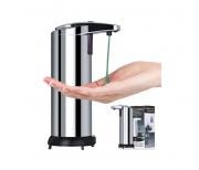 Saboneteira Automatica Inox Com Sensor Sabonete Álcool