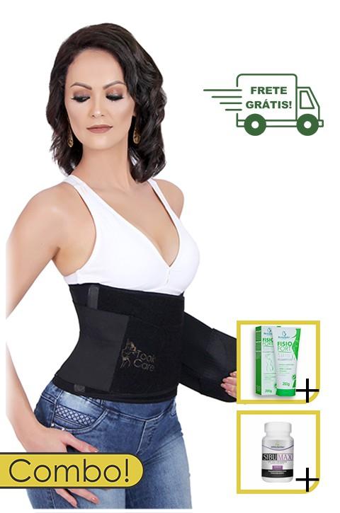 Kit Seca Cintura Premium - Took Neo + Creme + Cápsulas