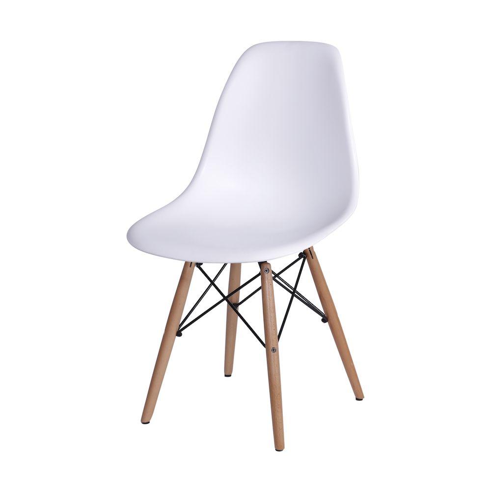 Cadeira Eames DKR BASE MADEIRA