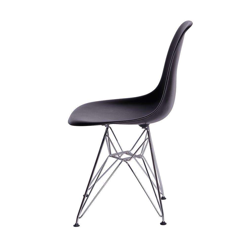 Cadeira Eames DKR Preta