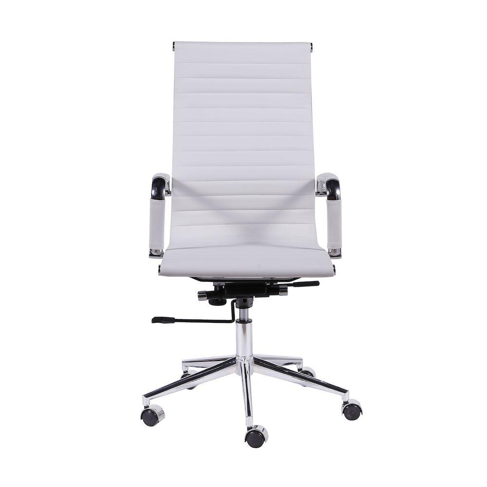 Cadeira Office Eames Esteirinha Alta Giratória