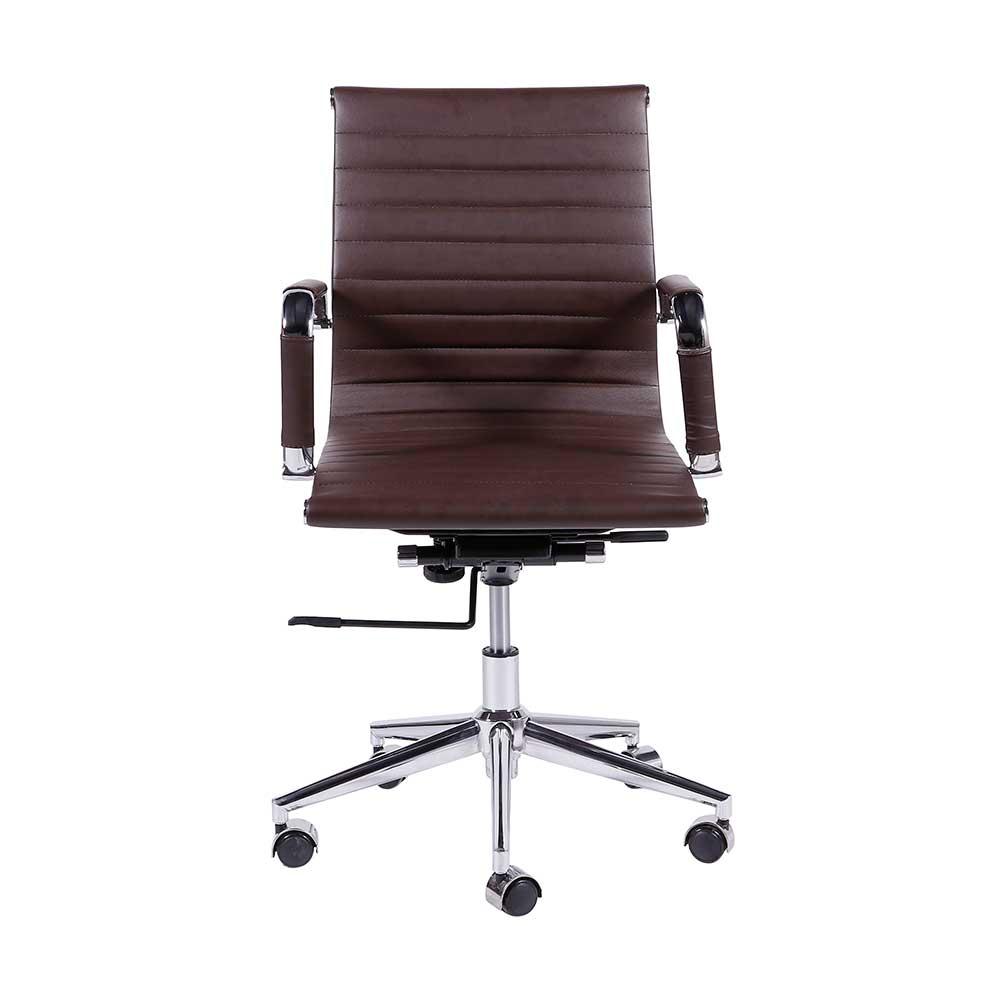 Cadeira Office Eames Esteirinha Baixa Giratória