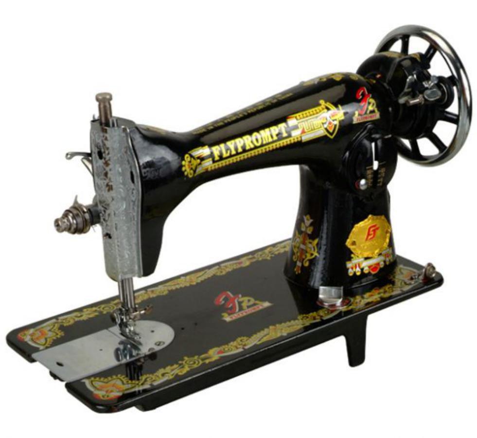 Máquina de Costura Reta Doméstica Retrô