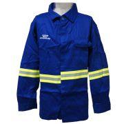 Camisa NR 10 Retarda Chamas Tam. M (Camisa c/Tecido Santanense) SEMFOR - C.A.36300 - NEXUS