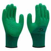 LUVA SUPER SAFETY SN NITRILON VERDE 1009 CA 31895 G