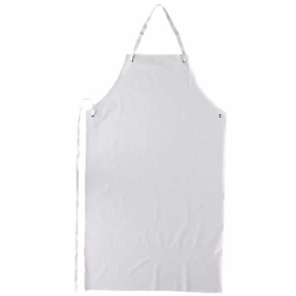 Avental em PVC branco TAM. ÚNICO - Plastcor  - NEXUSEPI