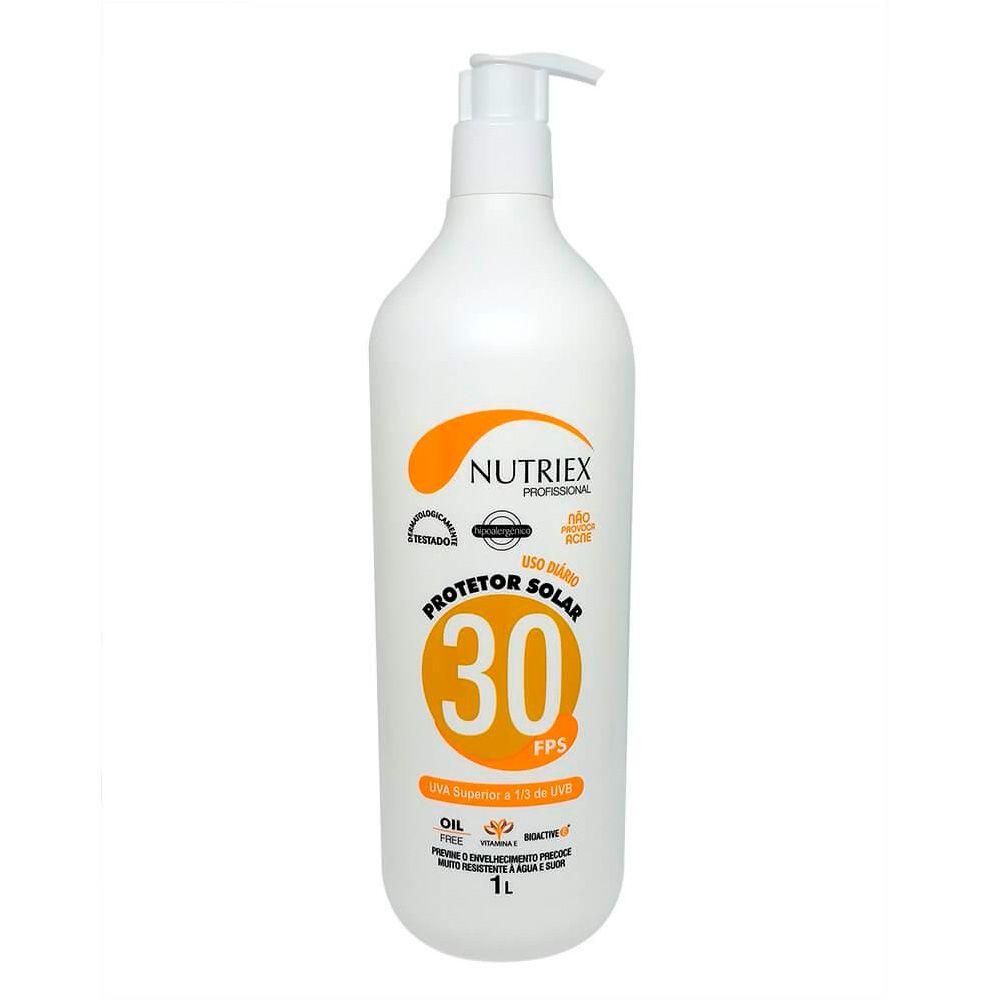 Bloqueador / Protetor solar FPS 30 1 LT - Nutriex   - NEXUSEPI
