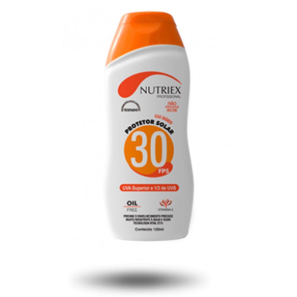 BLOQUEADOR / PROTETOR SOLAR NUTRIEX FPS 30 120 ML  - NEXUSEPI