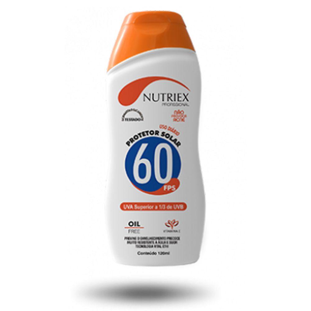 BLOQUEADOR SOLAR NUTRIEX FPS 60 120 ML  - NEXUSEPI