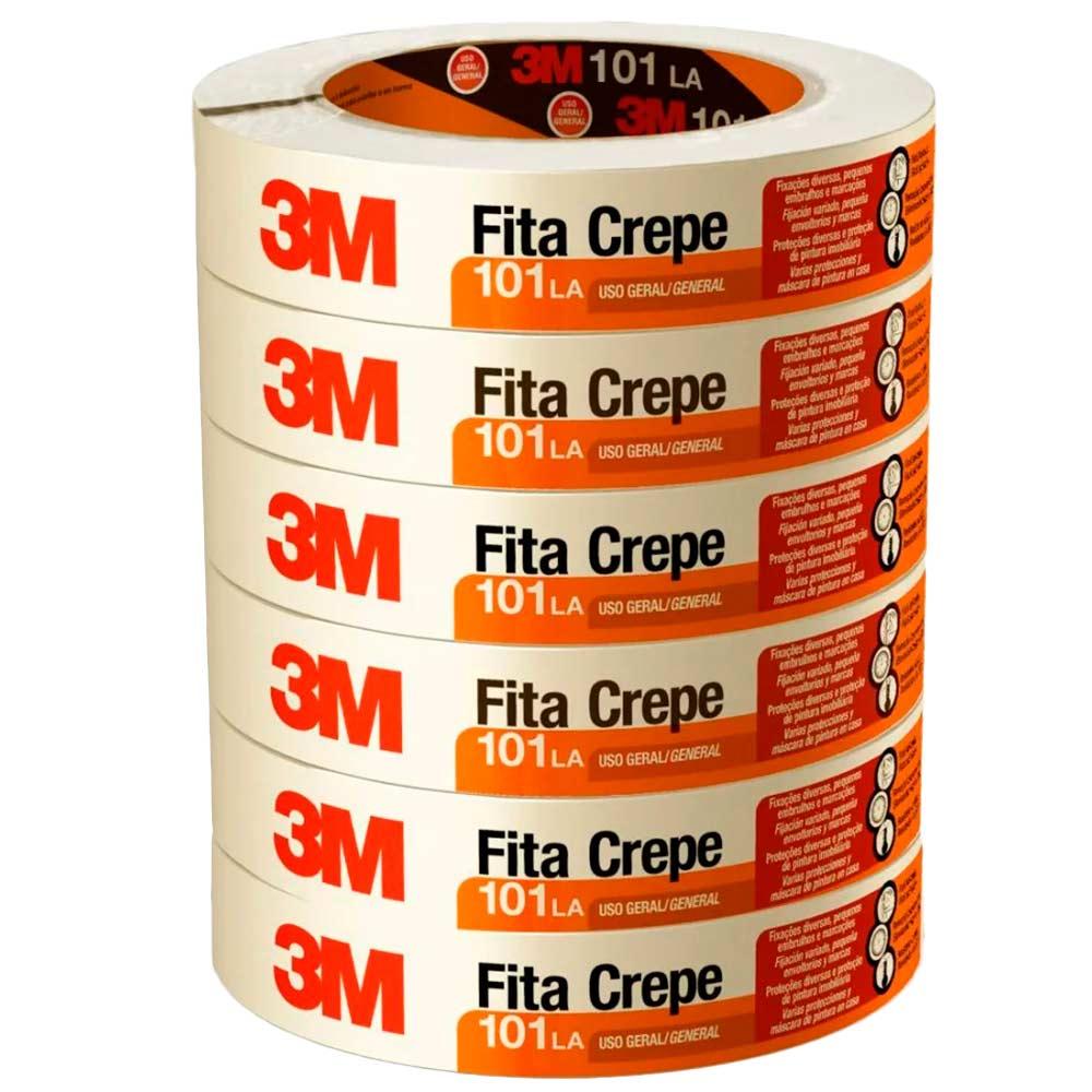 Fita Crepe 18MM X 50M Rolo - 3M   - NEXUSEPI