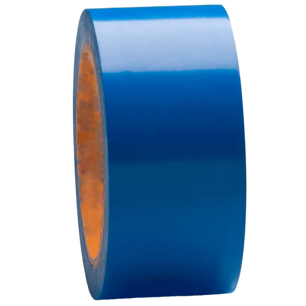 Fita Plástica Demarcação de Chão AZUL 30m - PLASTCOR  - NEXUSEPI