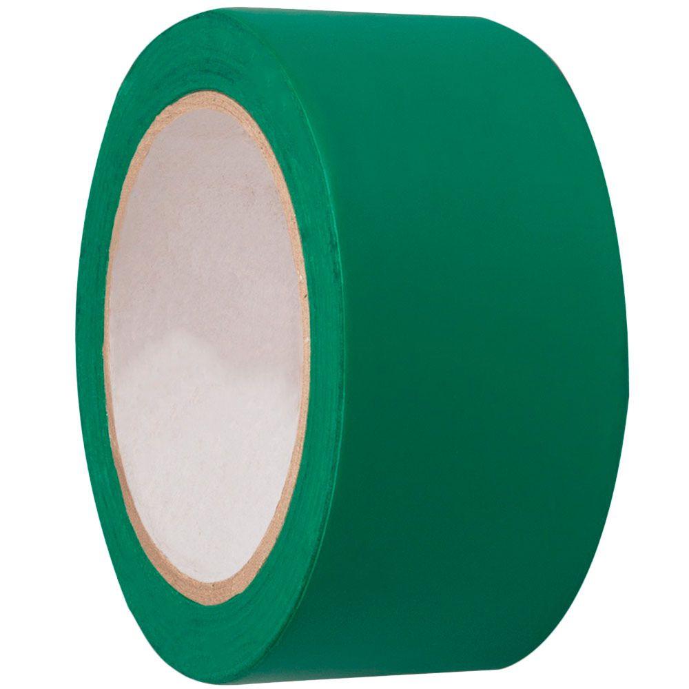 Fita Plástica Demarcação de Chão VERDE 30M - PLASTCOR  - NEXUSEPI