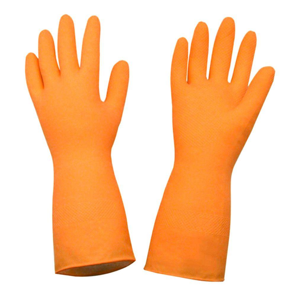 Luva latex orange - C.A 33778 M - SUPER SAFETY  - NEXUSEPI
