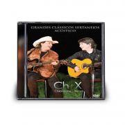 CD CHITÃOZINHO & XORORÓ - GRANDES CLÁSSICOS SERTANEJOS ACÚSTICO I