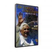 DVD EM FAMÍLIA COM O PAPA
