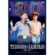 DVD Teodoro & Sampaio - 30 Anos