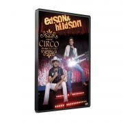 KIT DVD+CD EDSON & HUDSON - FAÇO UM CIRCO PRA VOCÊ
