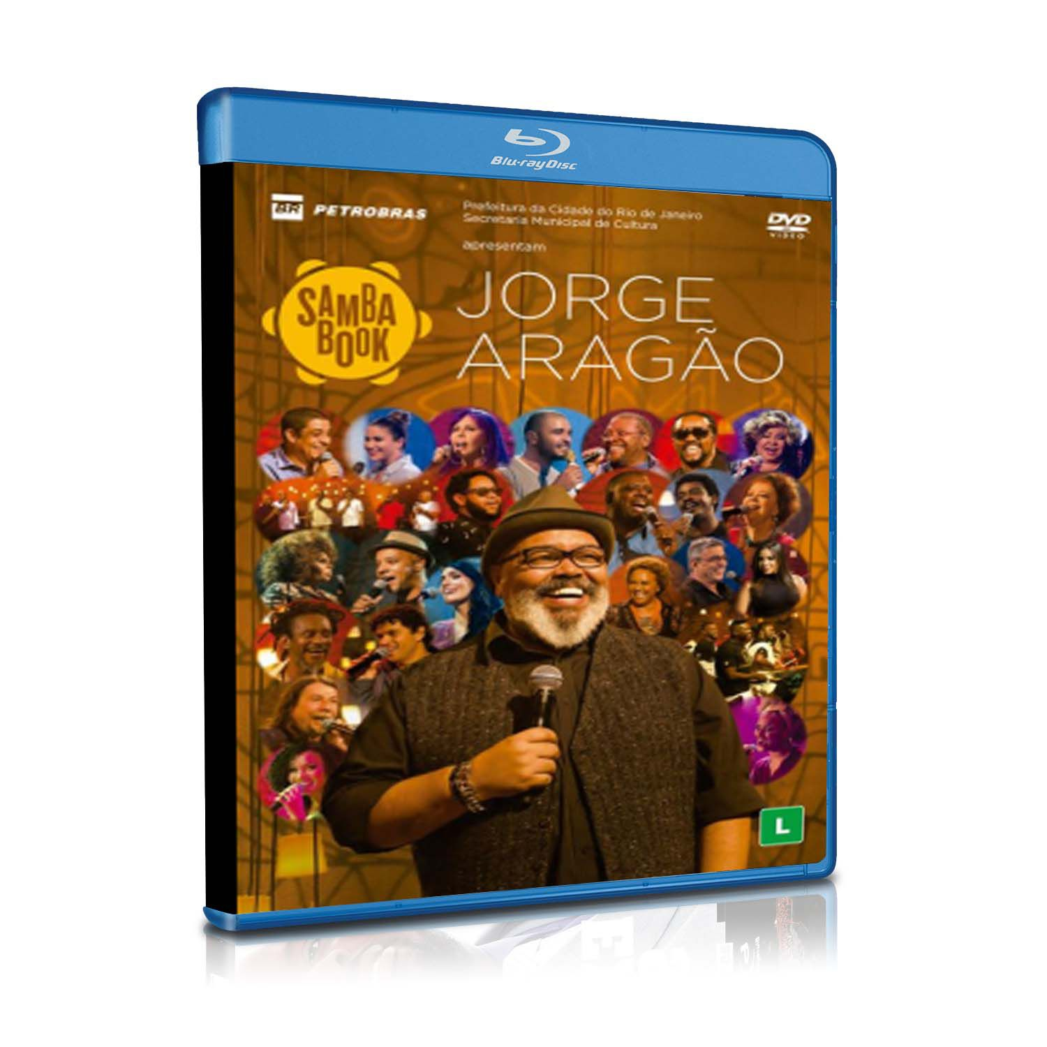 BLURAY JORGE ARAGÃO - SAMBA BOOK