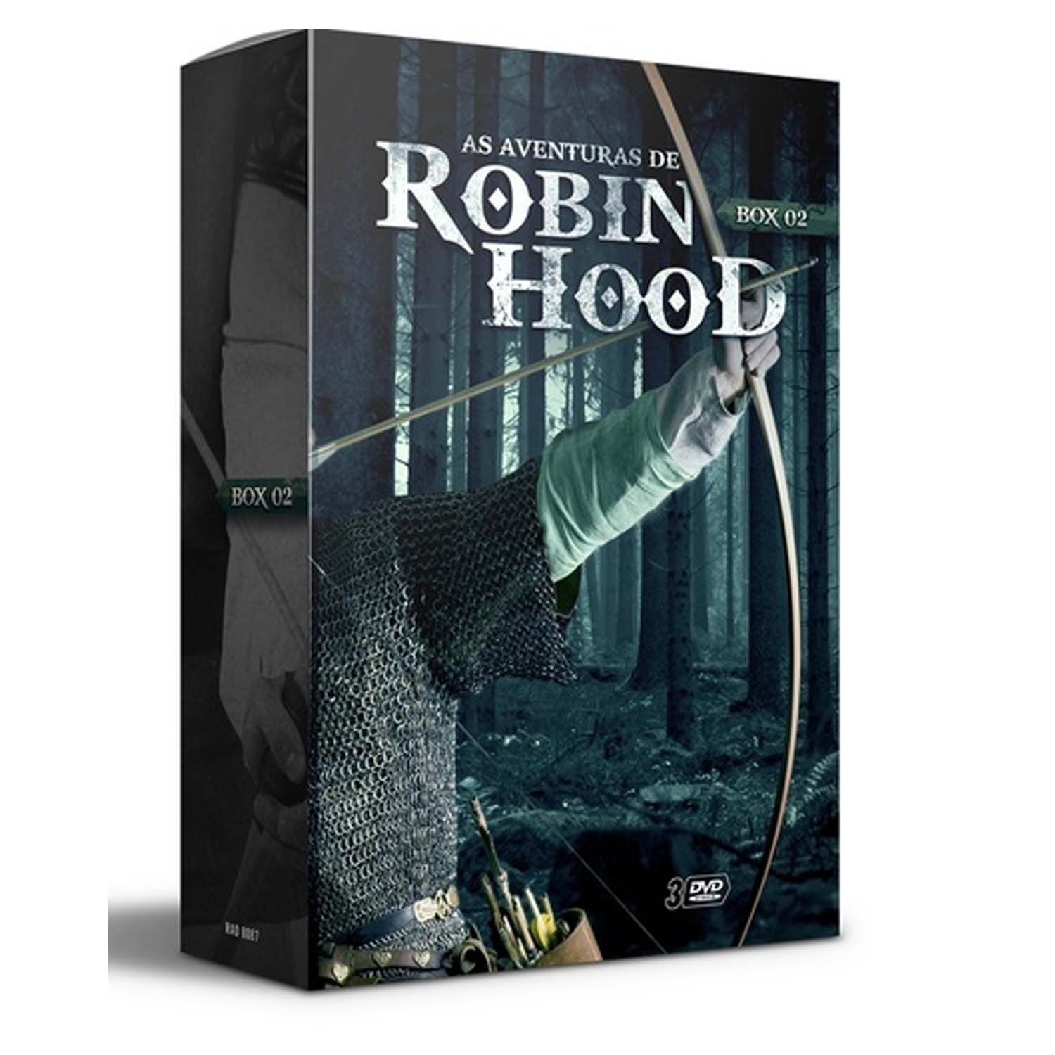 BOX ROBIN HOOD V. 2 - (3 DVDs)