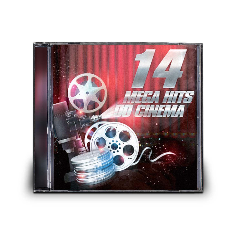 CD 14 MEGA HITS DO CINEMA
