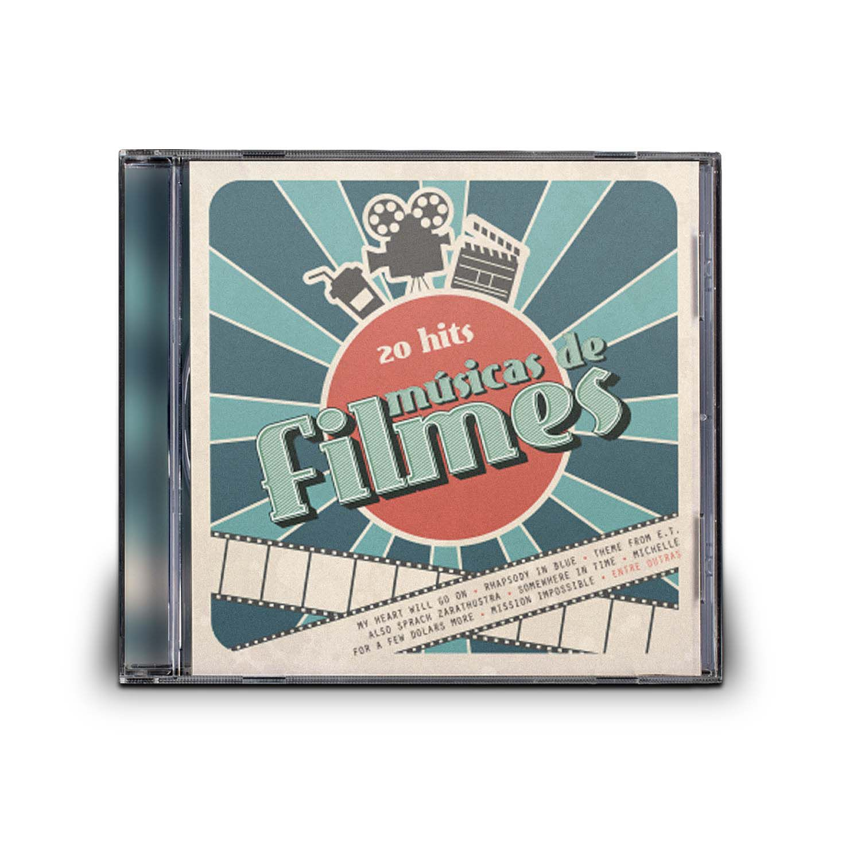 CD 20 HITS MÚSICAS DE FILMES