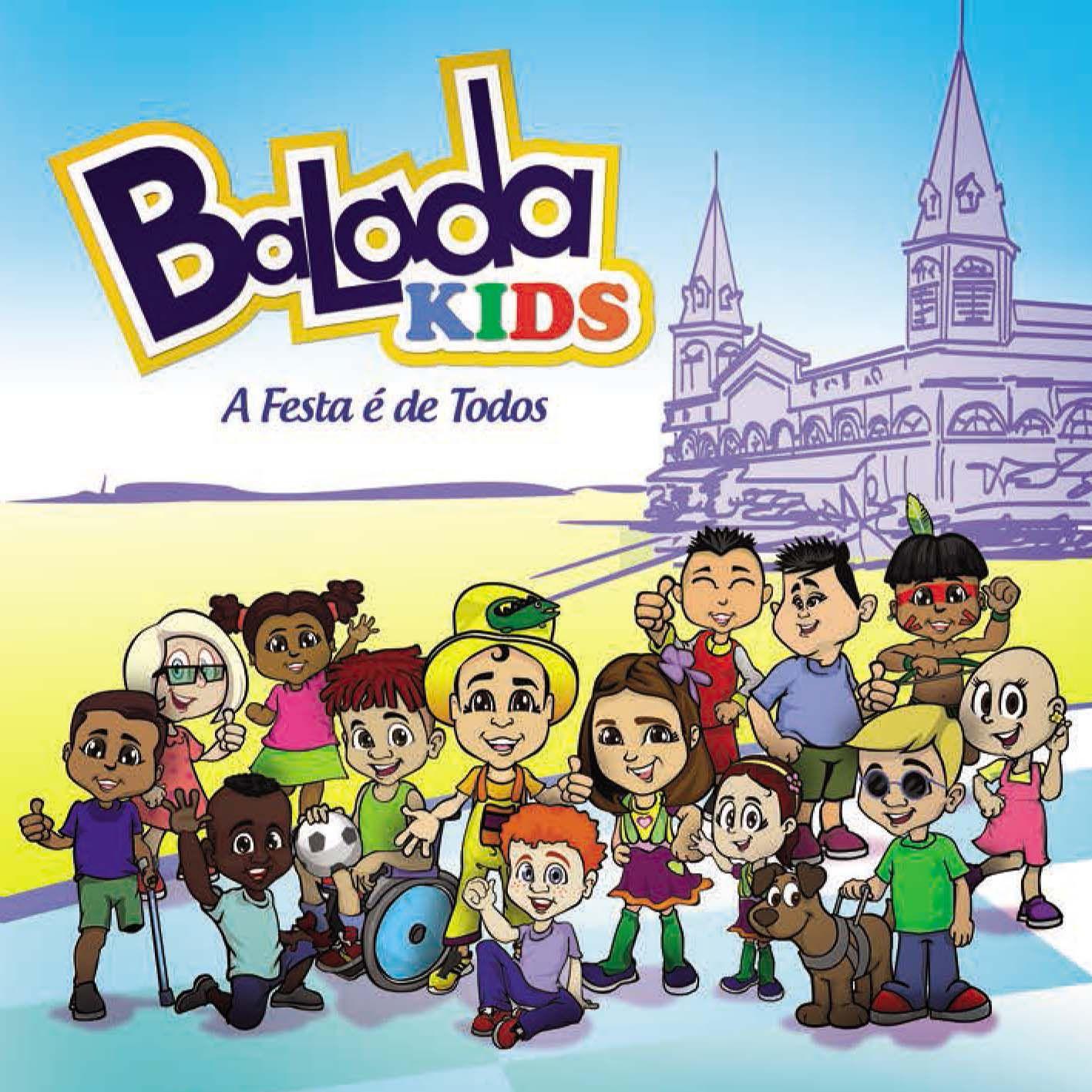 CD Balada Kids - A festa é de todos