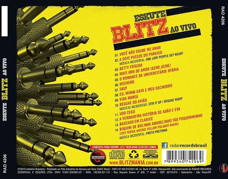 CD BLITZ - ESKUTE BLITZ