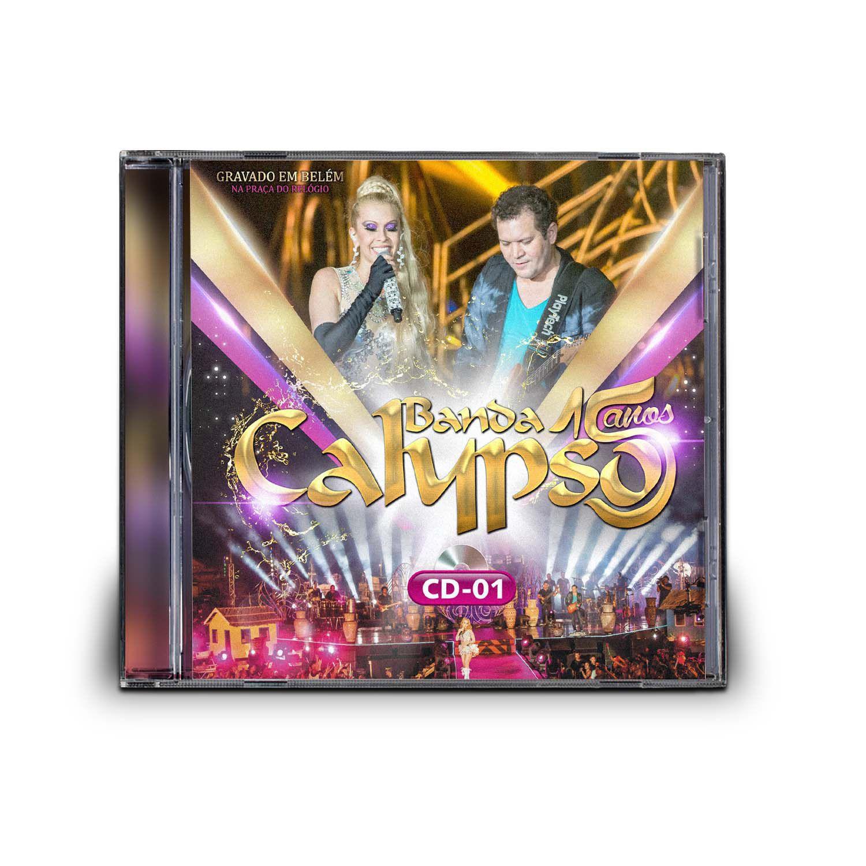 CD BANDA CALYPSO - 15 ANOS (CD 1)