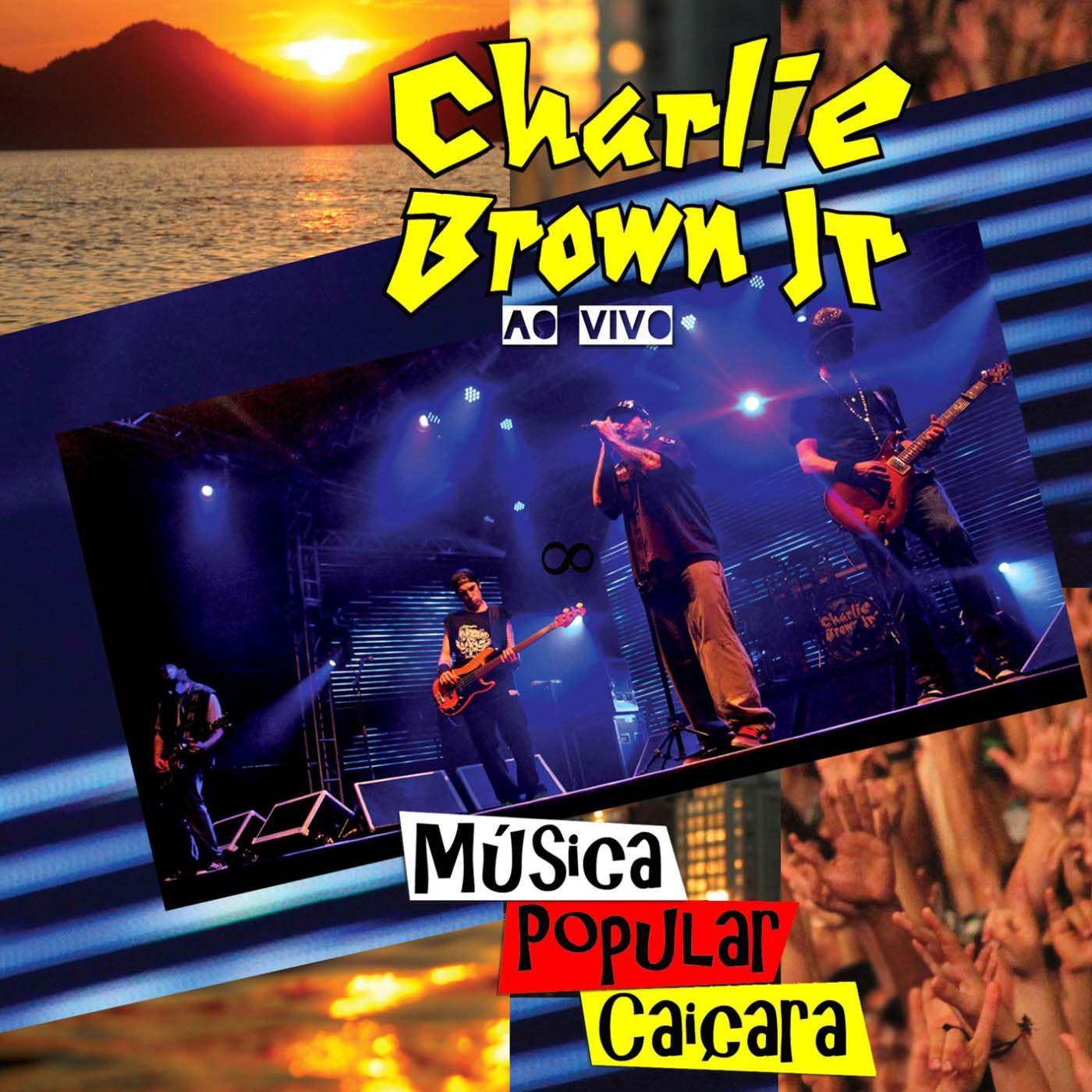 CD CHARLIE BROWN JR - MÚSICA POPULAR CAIÇARA VOL. 1